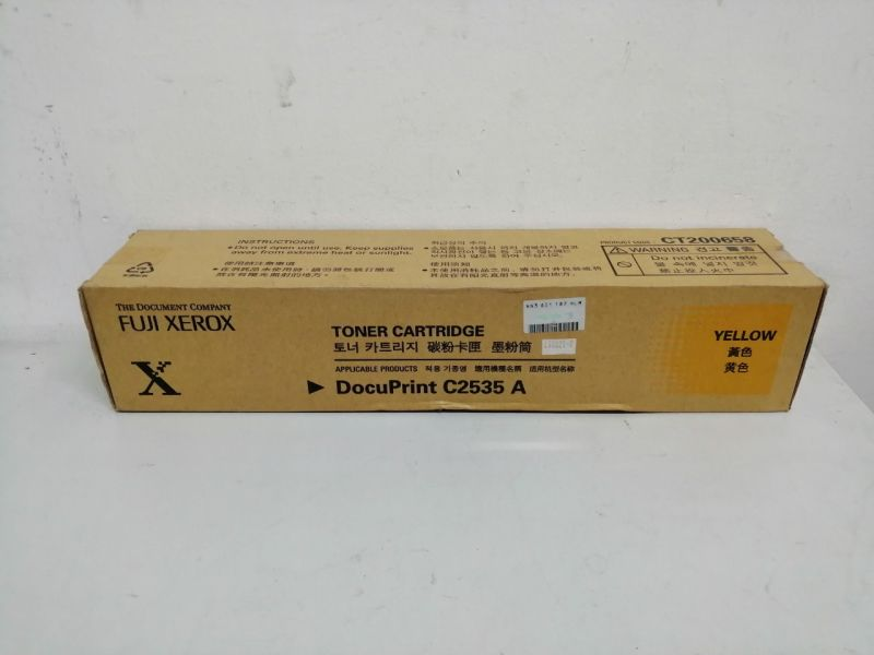 Mực máy in DocuPrint C2538 A Yellow Toner Cartridge